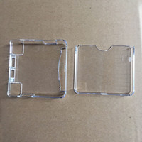 Cheap for GBA SP games box GBA SP Clear Case Best Cartridge Cases for Nintendo GBA SP Upper and Lower Lid GBA SP Cover