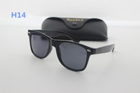 Wholesale Pink Wayfarer Sunglasses - New Retro Sunglasses Cat Eye Wayfarers Brands Sunglasses Men's Women's Sunglasses & Silver Box