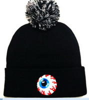 Wholesale Mishka Men Beanie - Fashion Cartoon MISHKA hat Beanie Street Hip Hop Beanie Winter Warm hat Knitted Wool Hats for Women Men gorro Bonnet Beanies Caps wholesale