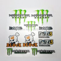 Wholesale Drifting Cycle - Special Offer Cartoon Car Styling Ghost Paw Stickers Drift Decal for Cars Motor Cycles Bike Skate Board Luggage Ghost Sticker