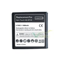1800mAh sprint tracking - 50pcs mAh EB625152VA Replacement Li ion Battery For Samsung Galaxy S2 II Sprint Epic G Touch D710 Tracking Code