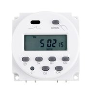Wholesale Digital Programmable Timer Relay 16a - Hot Worldwide LCD Digital Power Programmable Timer AC 12V 16A 4.4VA Time Relay Switch <US$10 no tracking
