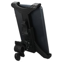Wholesale Ipad Bicycle - Universal 7-11 inch Adjustable Motorcycle Bike Bicycle Mount Stand Holder For Samsung New Tablet PC Holder Stand For iPad