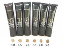 maquiagem prep prime bb venda por atacado-Maquiagem M BB Creme PREP + PRIME BB bálsamo de beleza 40 ml MC rosto Fundação de Alta Qualidade 6 cores misturadas