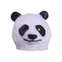 ingrosso maschere di cervi-Unisex Funny Animals Mask Adulto Full Head Latex Panda Picchio Sika deer Maschere Halloween Party Helmet Puntelli