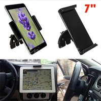 Wholesale Car Inch Gps Holder - Best Price 7 Inches Universal Adjustable 60-90mm Car CD Slot Mobile Mount Holder Stand For ipad mini For Samsung Tablet PC GPS