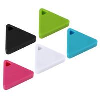 Wholesale kids wallets online - iTag iTracing Car Triangle Smart Tag Wireless Bluetooth Tracker Kid Child Bag Wallet Key Pet Dog GPS Locator Alarm Anti lost Keychain