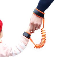 Wholesale Anti Lost Belt - Adjustable Kids Safety Harness Child Wrist Leash Anti-lost Link Children Belt Walking Assistant Baby Walker Wristband 1.5M 2.5M