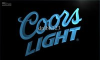 Wholesale Coors Neon Signs - LE012-TM Coors Lite Beer NR Bar Pub Club Neon Light Signs. Advertising. led panel