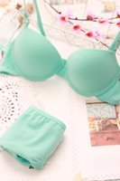 Wholesale New Vs Brand Bra Set And Women Underwear Set Cotton Printed Sexy Lingerie Push Up Bra Set Victoria Pink Bra And Panty Set