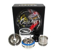 Wholesale Coil Bridge - Coilart azeroth RDTA atomizer 4ml Adjustable airflow coil art vaporizer with 304 SS and Gold plated bridge posts Free Shipping