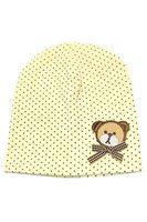 Wholesale Yellow Bear Costume - Wholesale-2016 New Baby Girls Boys Winter Cap Dot Bear Cotton Blended Hat (yellow)