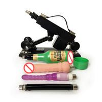 makineli tüfek vajina toptan satış-Vajina Kupası ile otomatik Geri Çekilebilir Seks Makineli Tüfek ve Kadınlar ve Erkekler için Anal Yapay Penis Aşk Gun Seks Makineleri