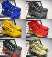 Wholesale Crazy Leather Shoes - Wholesale Air Crazy Explosive Boost men Shoes New Arrival Wiggins John J Wall 3 for Top quality Casual Shoes Training Sneakers Size 40-46