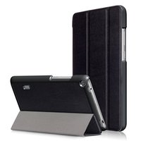 Wholesale m1 china - PU Leather Solid Stand Cover Case for Huawei Mediapad T3 7.0 BG2-W09 7 Inch Tablet +Pen