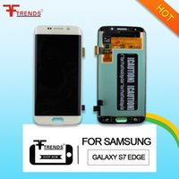 Wholesale Galaxy Touch Screen Digitizer - for Samsung Galaxy S7 Edge Original AAA LCD Display Touch Screen Digitizer Assembly G935FD G935V G935T G935P G935F G935 G935A Dropshipping