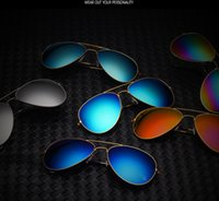 Wholesale Leisure Colours - 2016 in Europe and the hot style leisure membrane of the colour sunglasses fashion lady uv protection glasses sunglasses free shipping 10 co