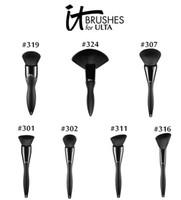 kadife fırça toptan satış-Marka Profesyonel Makyaj Fırçalar 1 adet bu ulta kadife luxe için fırçalar kozmetik toz fan karıştırma vakfı allık kontur makyaj fırça