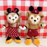 Wholesale Toy Wholesalers Sydney - Cute Stuffed Animal Bear Japan Duffy Halloween Bear Sydney Pear Cute Plush Toys Size Doll Gift Kids Toys