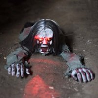 Wholesale Scary Decorations - 2017 New Horror Halloween decorations Scary Novelty and Toys Horrible Screaming Noise Amazing Kids Funny Toys Electronic furnishing articles