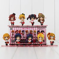 Wholesale Ha Shipping - Love live! Yazawa Nico Koizumi Ha Minami Kotori Sonoda PVC Action Figure Collectable Model Toy for kids gift free shipping retail