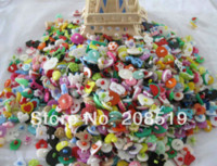 Wholesale Cheap Crafting Buttons - Assorted Buttons mixed craft buttons 300pcs lot Buttons plastic Scrapbooking Accessories M68284 Buttons Cheap Buttons