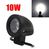 Wholesale Waterproof Atv Offroad Lights - Waterproof 760LM 10W Offroad Car LED Work Light Cree LED Driving Fog Lamp for Car   Motorcycle   Boat   ATV order<$18no track