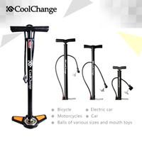 Wholesale Floor Air Pump - 2015 Coolchange High Pressure Pump Bicycle Pump Electric cars Air Pump Cars Air Pump Free Shipping