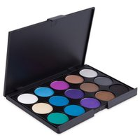Wholesale Shadow Colors For Green Eyes - 15 Colors Natural Eye Shadow Palette Cosmetic Makeup Palette Long Lasting Makeup Matte Pigment Eyeshadow Palette For Women