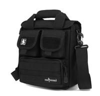 Wholesale Material Shoulder Bags - Outdoor Sports Men's Tactical Handy Bags CORDURA Material YKK Zipper Single Shoulder Bags For Hiking&Camping