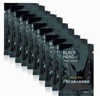ingrosso nose blackhead pore removal cleaner mask-Pilaten Mineral Fango Naso Blackhead Pore Strip uomini donne Pulizia Cleaner Rimozione Membrane Strisce rimozione maschera viso peeling