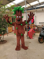 high quality Real Pictures Deluxe Old trees tree mascot costume Elephant mascot costume Adult Size factory direct free shipping
