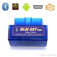 Mini V1.5 OLMO 327 OBD2 II Tool Interface Bluetooth auto di esplorazione di Bluetooth diagnostica funziona Android di Windows