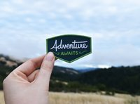 Wholesale adventure clothing - Hot Sale Adventure Awaits Patch Iron on Explorer Embroidered Badge patches Sew on Clothing Embroidery Patch Free Shipping