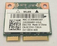 Atacado- Qualcomm Atheros AR9565 QCWB335 DW1705 Half Mini PCIe BT4.0 Wireless Card CN-0C3Y4J para INSPIRON 15 3521 3537 17R 5721 N4010