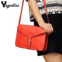 Wholesale Envelope Green - New fashion Women's handbag messenger preppy style Woman Bag vintage envelope bag shoulder bag high quality briefcase