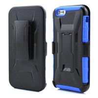 Wholesale Nexus Hybrid - Armor Holster Defender Full Body Protective Hybrid Case Cover for iphone 6s 6 Plus Samsung S7 S6 Edge LG Nexus 5X With Belt Swivel Clip DHL