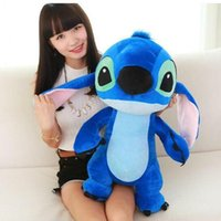 Wholesale Baby Giants - Giant Large Big Lilo Stitch Stuffed animals Plush Baby Soft Toys Doll for baby children best birthday gift