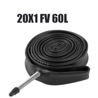 Wholesale Carbon Bmx Parts - 20*1 FV 60L Bike Inner Tubes BMX Bicycle Folding Cycling 451 406 Carbon Wheel Inner Tire Cycling Parts