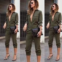 Wholesale Ladies Party Jumpsuits - Wholesale- UK Womens Slim Evening Party Playsuit Ladies Romper Long Jumpsuit Size 6-14