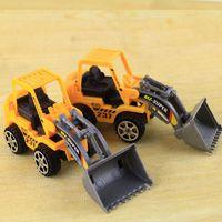 Wholesale Bus Block Sets - Bulldozer Truck Engineering Car Building Blocks Brick Toy Model Figure Gifts Boy A00018 BRE