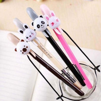 Wholesale Cute Cartoon Gel Pen Writing Pens Promotional Pens School Office Supplies Papelaria