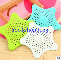Wholesale Colorful Silicone Kitchen Sink Filter Sewer Drain Hair Colanders Strainers Filter Bathroom Sink