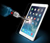not defteri ekran koruyucusu toptan satış-Premium Temperli Cam iPad Pro 2 3 4 5 6 iPad Hava 2 Mini Perakende Paketi ile Koruyucu Patlamaya dayanıklı Ekran Koruyucu 2.5D Film Kutusu