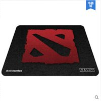 Wholesale Qck Mouse Pad - STEELSERIES QCK+ DOTA2 game mouse pad, Size 450X400X4mm Free Shipping pad mouse mouse pad wrist