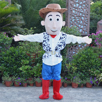 Wholesale Toy Story Woody Mascot Costume - Cowboy Woody Mascot Costume Toy Story Sheriff Woody Fancy Dress Free Shipping