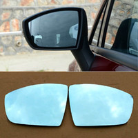 Wholesale Auto Side View Mirror - Auto parts High-quality Car Rear View Mirror Hyperbolic Blue Mirror Arrow LED Steering Light For Ford Escape Ecosport Free shipping