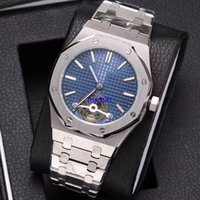 Wholesale Japanese Automatic Watch Movement - AP Japanese movement luxury brand watch men 41mm 2 pointer automatic mechanical stainless steel royal oaks watch AAA replicas watches 147