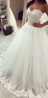 Wholesale Transparent Bodice Wedding Dress - New Design 2017 Lace A Line Wedding Dresses Transparent Princess Bridal Gowns Custom Made Fashionable Sweetheart Beaded Applique Sweep Train