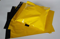 Wholesale Yellow Poly Mailers - Yellow Color Self Sealing Plastic Poly Mailer Shipping Envelope  Yellow Color Plastic Postal Mailer  Self Adhesive Envelope